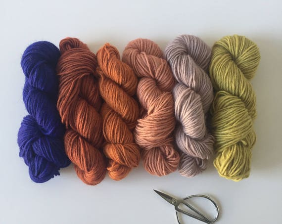 Woolly Yarn Pack Color Mix