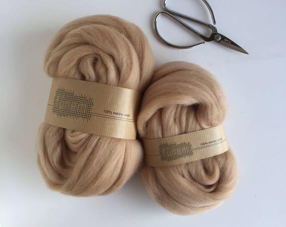 Organic Merino Wool Roving 619 Powder