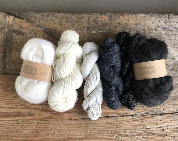 Fiber Pack Coal Mix & Off-White