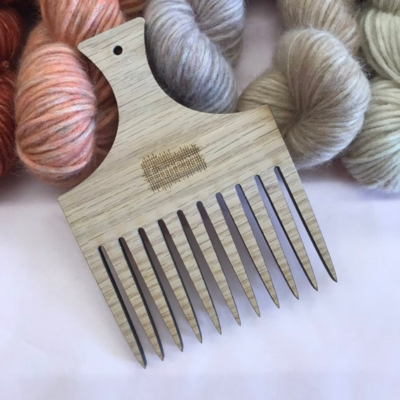 XL Weaving Comb Red Oak 6mm