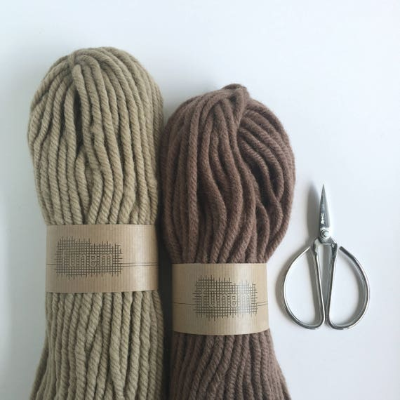 Pure Wool 200 grams / 7 oz / 100% Wool / Laine / Wol / Wolle
