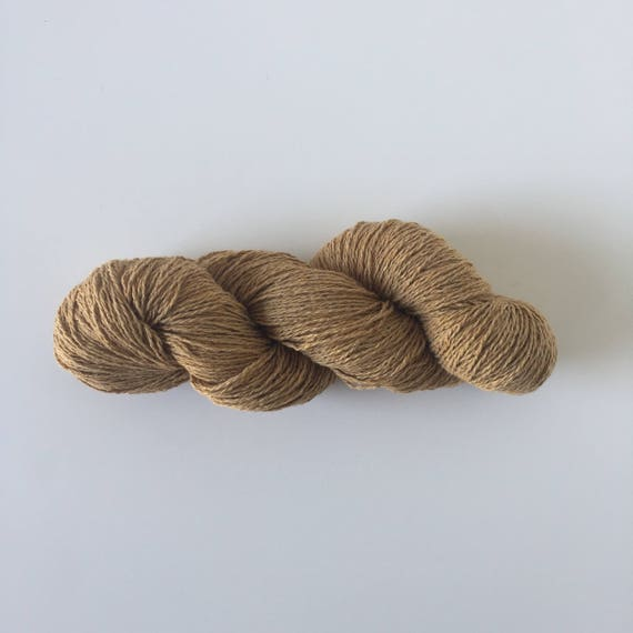 Recycled Denim Yarn Ochre