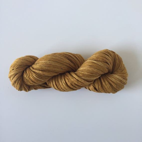 Waxed Cotton Yarn Ochre