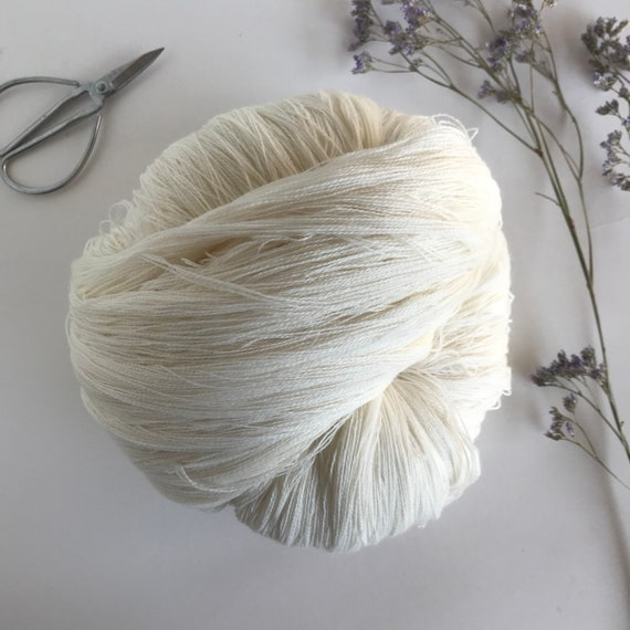 100% Wool Yarn Undyed