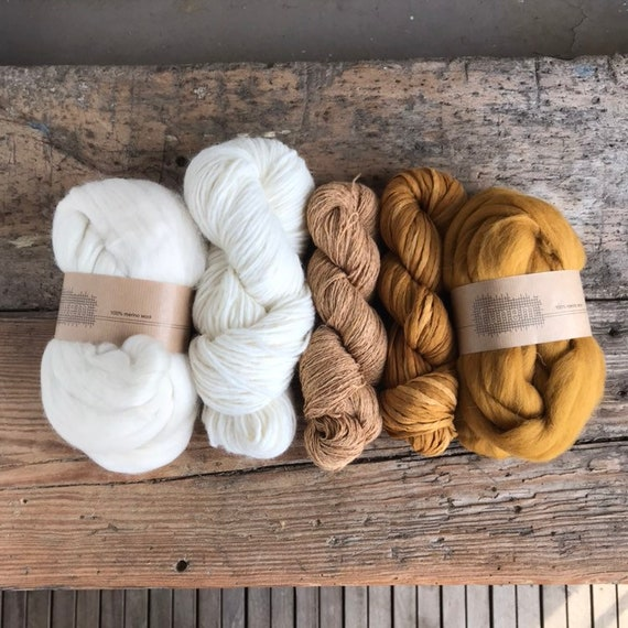 Fiber Pack Off-White & Ochre