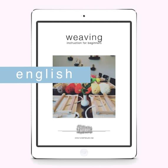 Weaving Instruction Beginners / DIGITAL / Guide / English