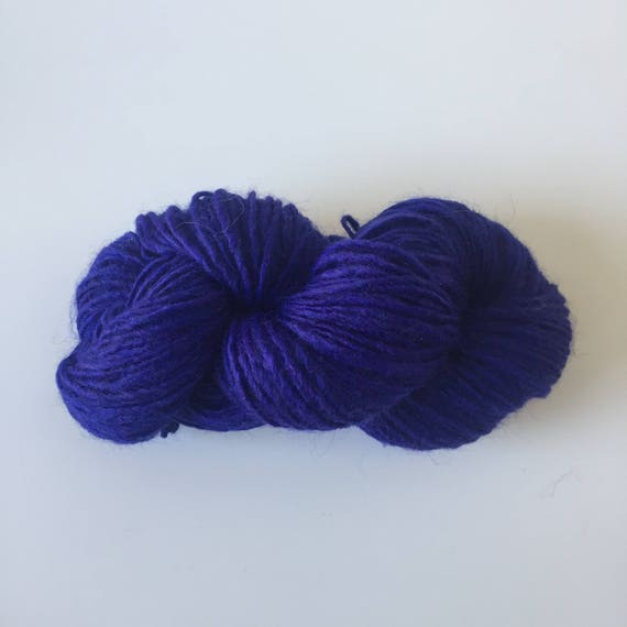Woolly Yarn Electric Blue