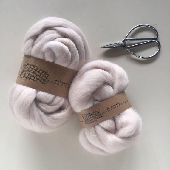 Merino Wool Roving 713 Cream