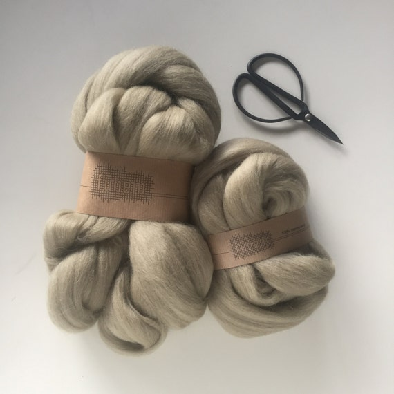 Merino Wool Roving 528 Terre Green