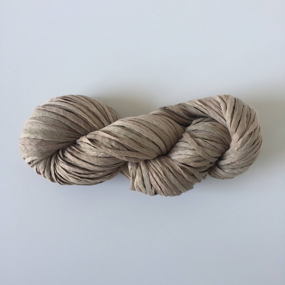 Waxed Cotton Yarn Beige