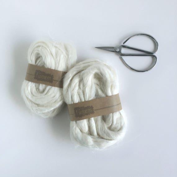 Flax Fibres White / Vlas lont / Fibre / Fibres