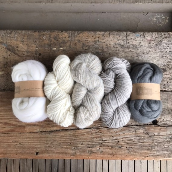 Fiber Pack Grey and White Hues