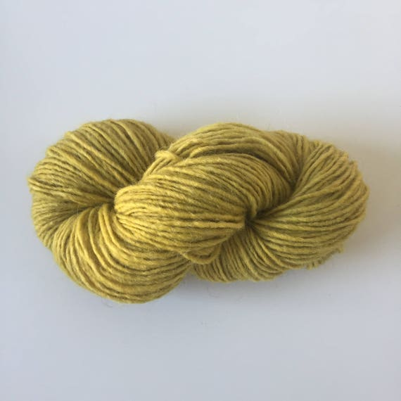 Woolly Yarn Old Lemon