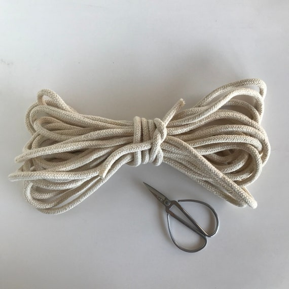 Cotton Rope 9mm Natural Ecru