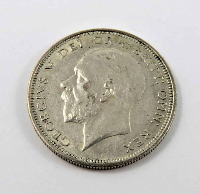 Great Britain 1926 Silver Half Crown Coin.