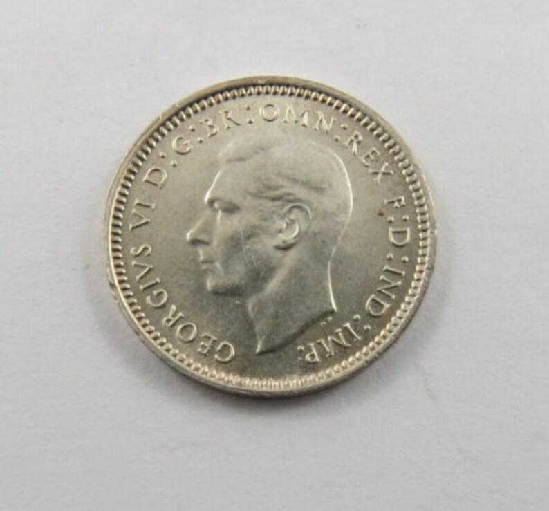 Australia 1943Three Pence Coin.KM#37