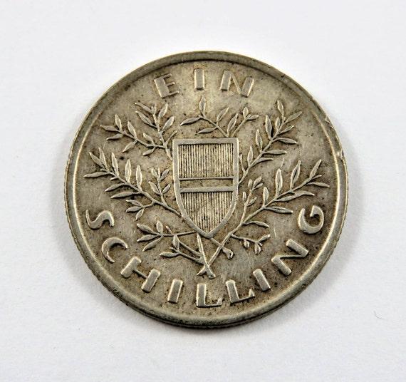 österreich 1925 Silber Schilling Münze