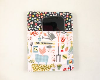 Chunkee Pocket Add-On for Outside of Travelers Notebook Cover or Fabric Insert