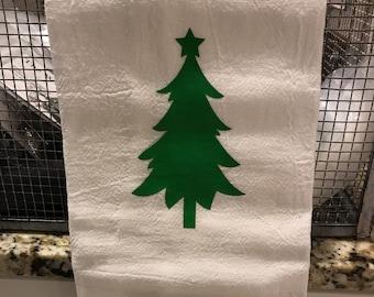 Tree flour sack towel