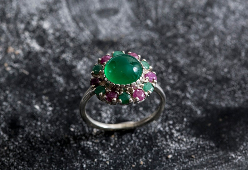 Jewelry & Watches Fine Rings Honesty Green Peridot Gemstone 925 Sterling Silver Jewelry Ring 6.75 Cheap Sales