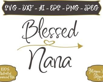 Nana Life Svg Etsy