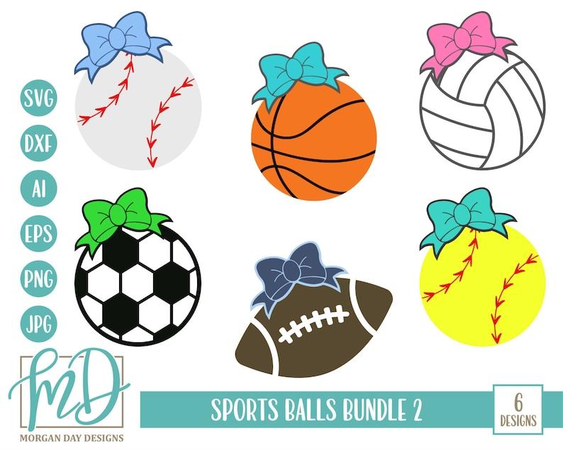 Sport Bundle Svg Bundle Svg Sports Balls Svg Baseball Svg Etsy