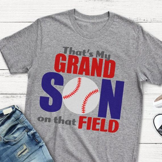 That/'s My Grandson on that Field SVG Baseball Grandparent SVG Files for Silhouette StudioCricut Design Space Baseball SVG Baseball