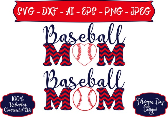 Personalized Baseball SVG Sports Mom svg Baseball SVG Baseball Mom SVG Sports svg Files for Silhouette StudioCricut Design Space