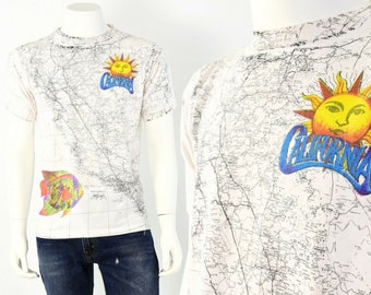 Hollywood Signs California Landmark Womens 3D Graphic Before Printing Short Sleeve T-Shirt Novelty Tee