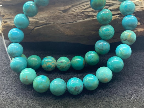 About 10mm Round  Nevada turquoise Natural turquoi