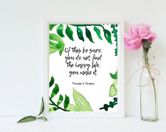 Thomas S Monson Quote Lds Quote We Cant Direct The Etsy