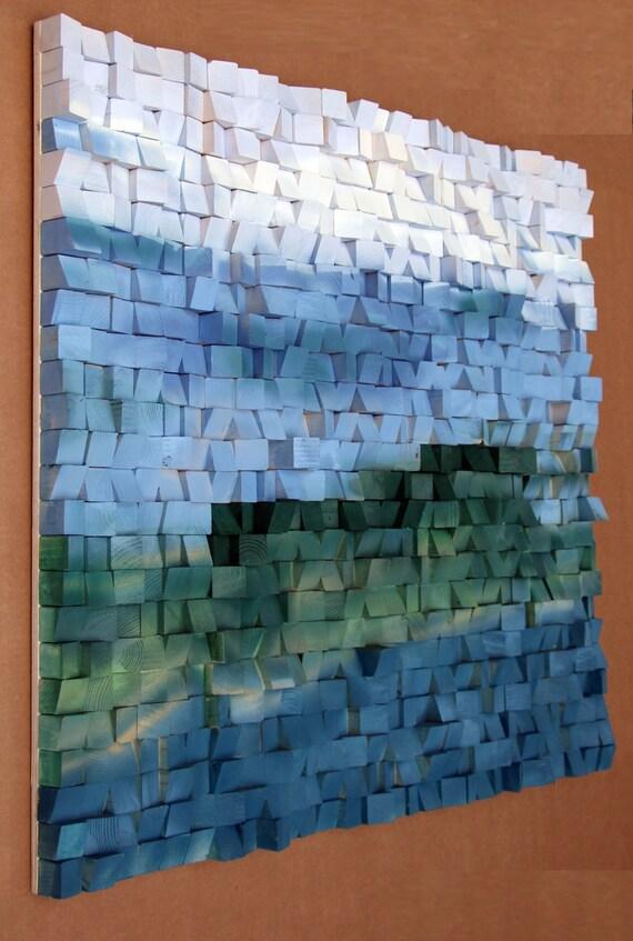 36 X 40 Inch Abstract Wood Art Wood Wall Art Reclaimed Woodburning Wood Wall Art Wood Mosaic Wood Wall Art Wood Wall Sculpture