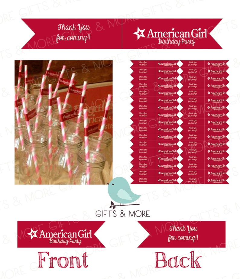 photo regarding American Girl Printable referred to as Fast Down load - Get together Flags - American Doll Lady Printable Get together