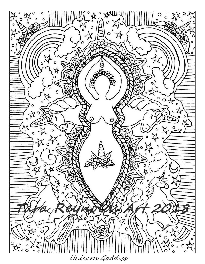 410 Top Unicorn Coloring Pages Mandala For Free