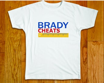 bd7a96214de9d8 Brady Cheats - Anti-Tom Brady T-Shirt