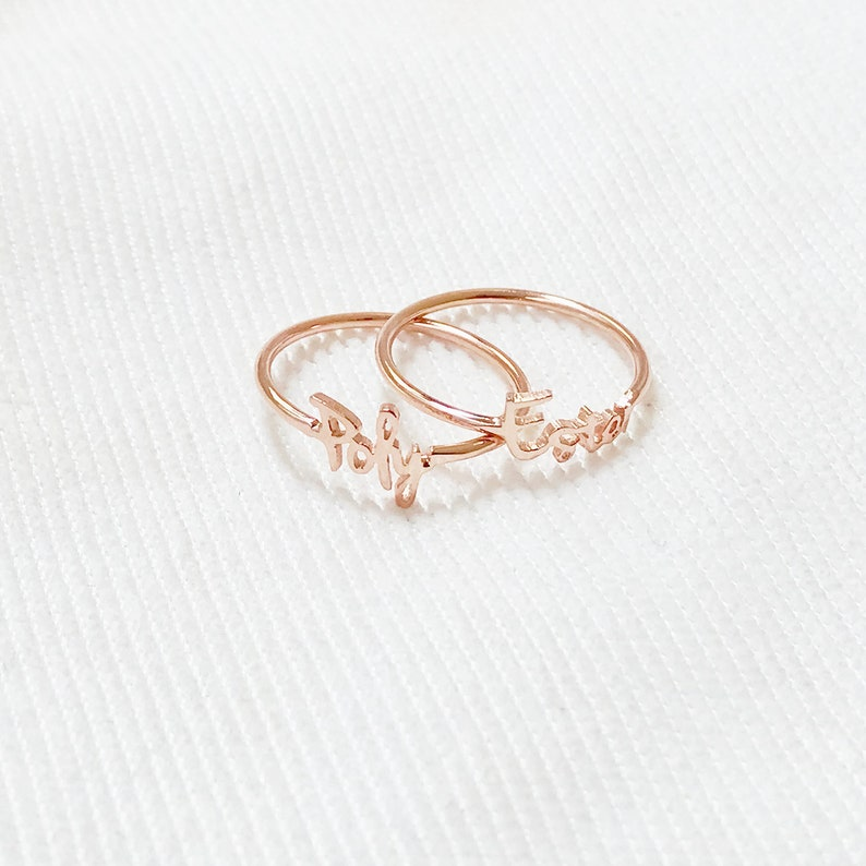 For Women Personalized Ring Children Name Ring Personalized Name Ring Personalized Gift Name Ring Custom Name For Her Mothers Ring