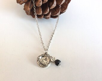Necklace Essential Oil Diffuser Pendant Bird's Nest - Jewelry Diffuser Essential Oils Aromatherapy