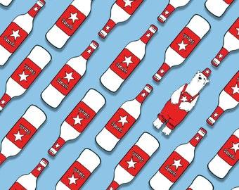 Day 10 Print: Polar beer