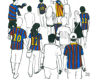 Day 6 Print: FC Barcelona vs Roma, 50th anniversary of the Joan Gamper Trophy