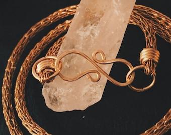 Viking Knit Wrap Bracelet