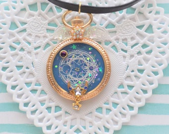 Navy Starry Night Necklace