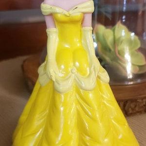 Disney/'s Beauty and the Beast Belle rubber eraser PVC figure retro vintage 1990/'s