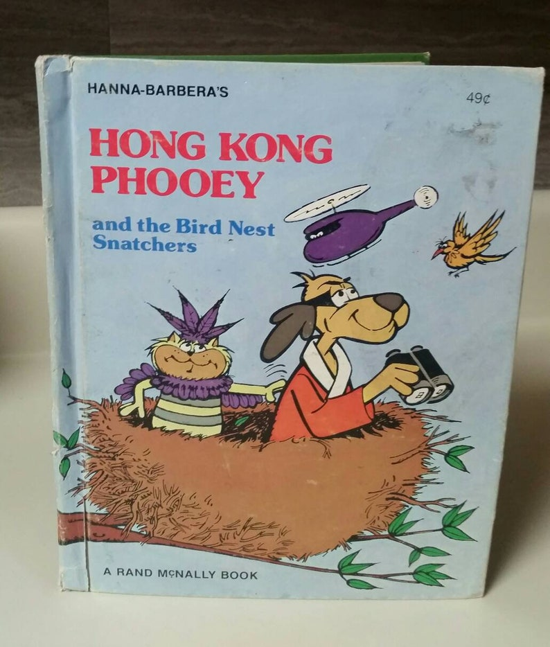 2e84a76cafff7 Hanna-Barbera s Hong Kong Phooey and the Bird Nest