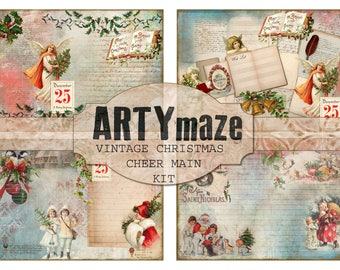 CHRISTMAS CHEER Journal Kit INSTANT Download