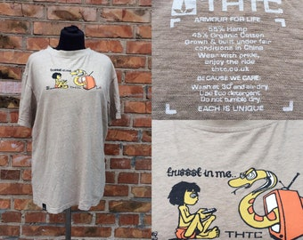 Vintage 90s polo shirt Gray Mark O\u2019Polo CORE Size XL