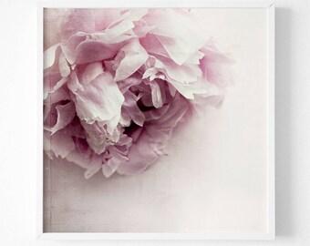 Pink Flower Photography, Fine Art Print, Rustic Flower Photography, Flower Art for girls, Vintage Flower Wall Art