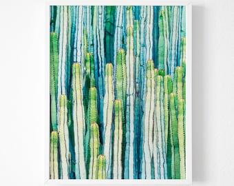 Succulent Print, Cactus Wall Art Print, Cactus Art, Mint Cactus Art, Succulent photography , Botanical Print, Succulent Wall Art Print