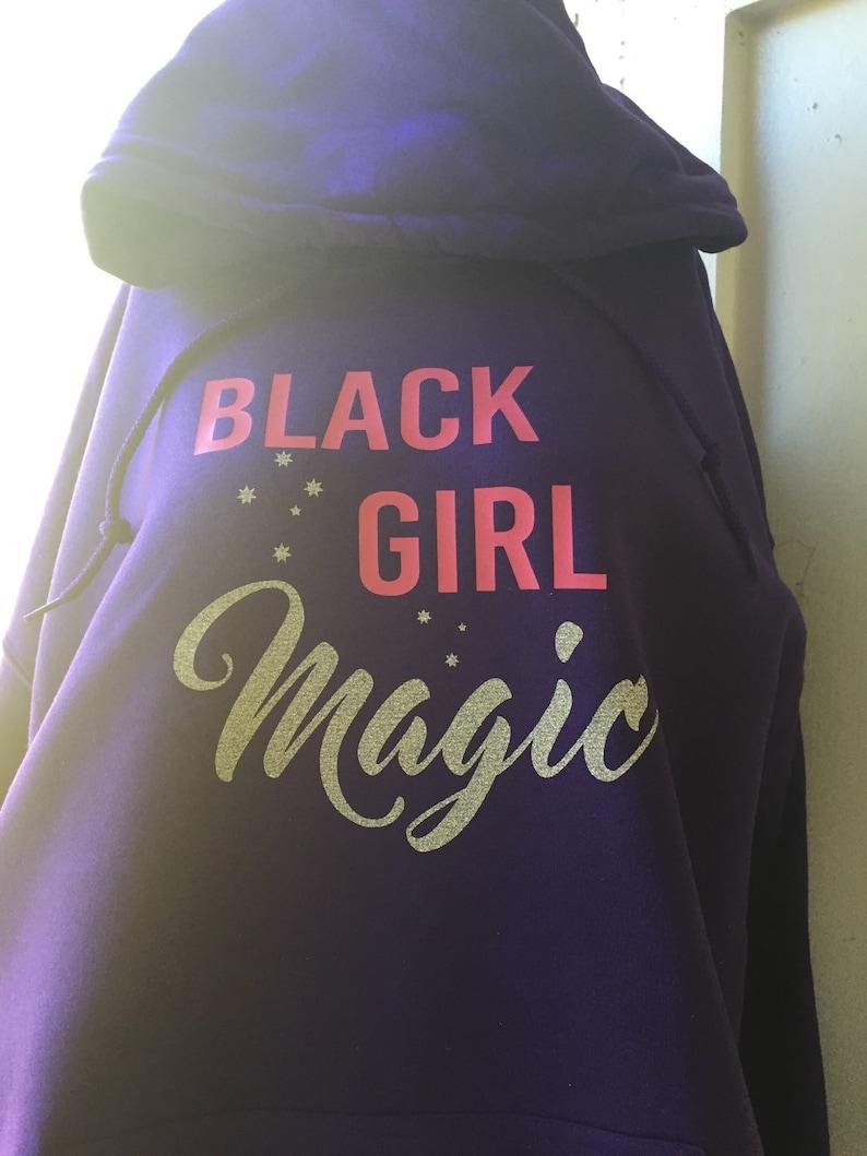 d4959c1b2a3 Black Girl Magic Hoodie. Black Girl Magic Shirt. Plus Size