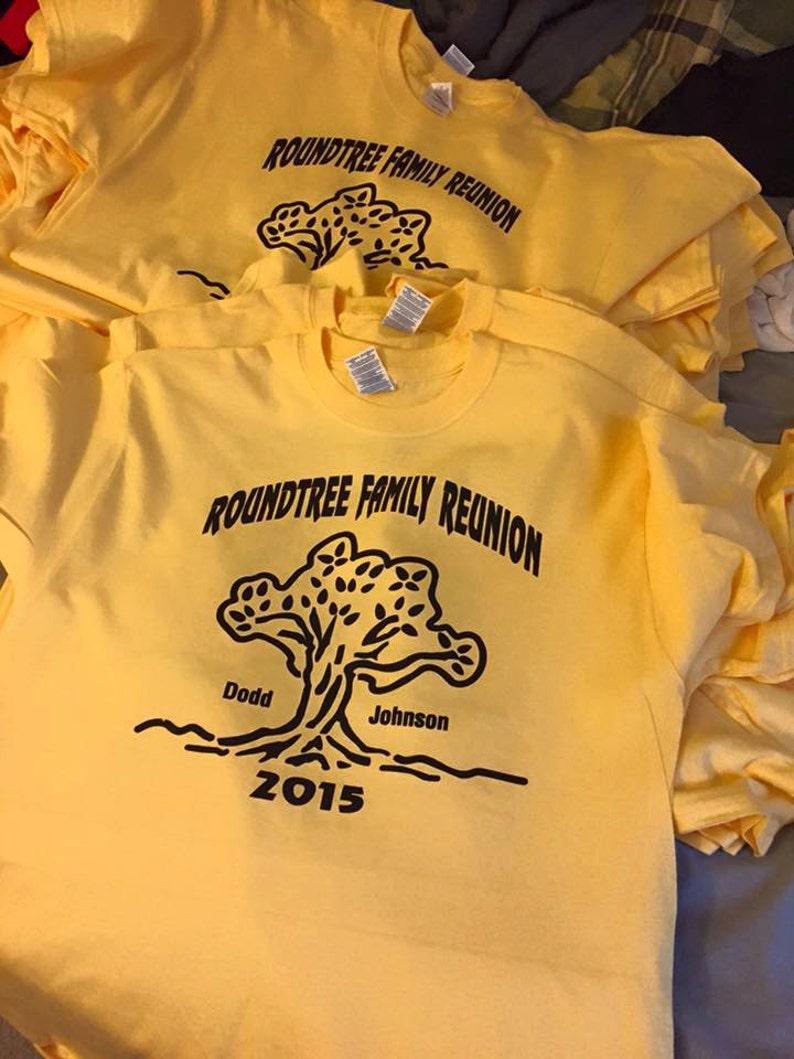 78d24bb14 Camisetas de reunión familiar. Camisas de la reunión. Camiseta | Etsy