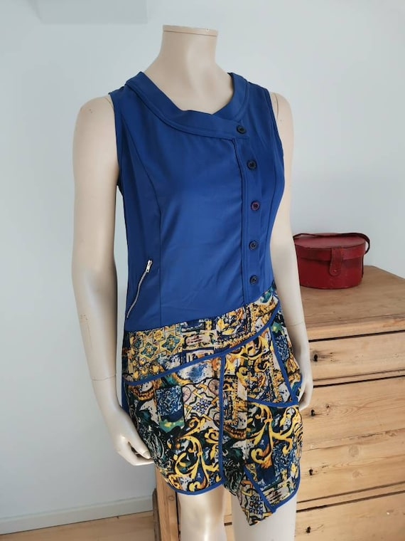 Vintage 1960s dress//Mod dress - image 2